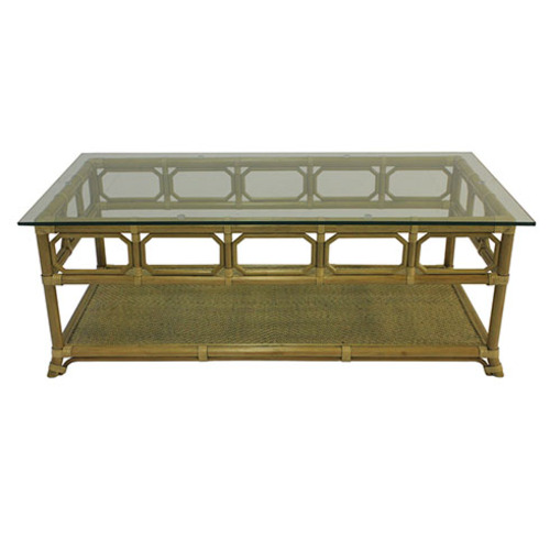 Regeant Rectangular Coffee Table in Nutmeg or Clove