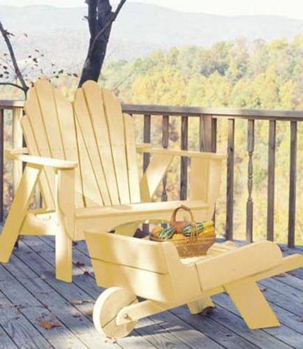 Seaside Outdoor Fanback Two Seater Adirondack