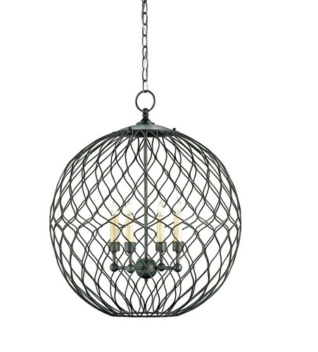 Simpatico Orb Chandelier In Two Sizes For Sale Cottage