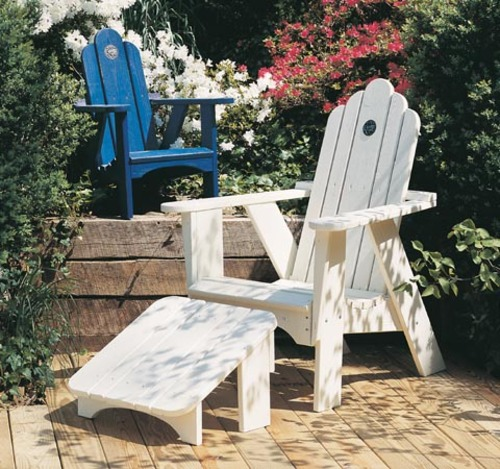 Spring Lake Outdoor Chair And Leg Rest For Sale Cottage
