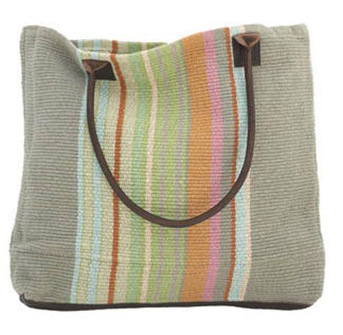 Stone Soup Woven Cotton Tote Bag