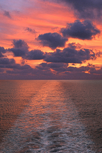 Sunset at Sea Giclee