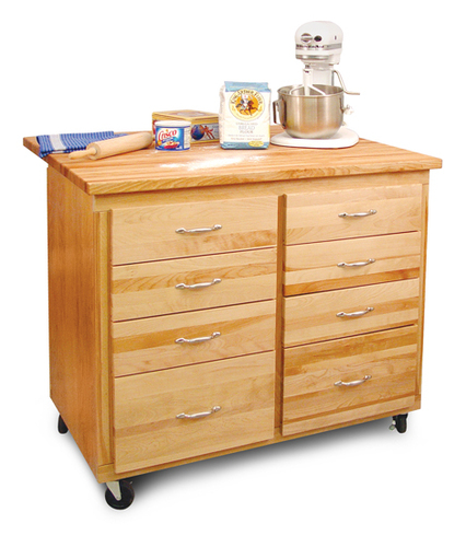 The Eight Drawer Barrington Kitchen Island