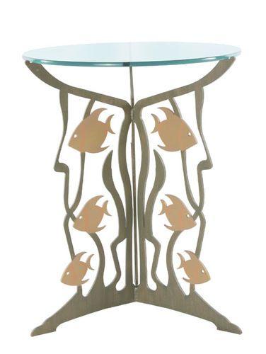 Metal Fish Table