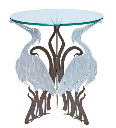 Metal Heron Table