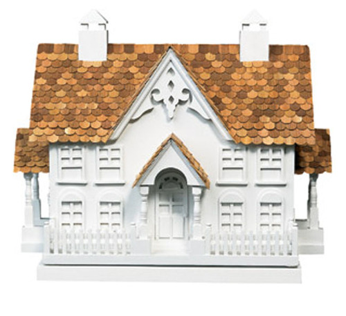 The Wren Mansion Birdhouse