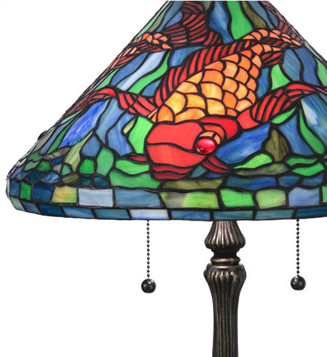 Tiffany Koi Table Lamp