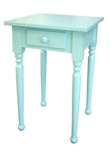 Turned Leg Side Table