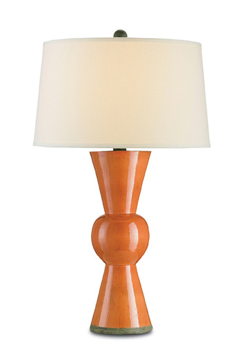 Upbeat Table Lamp in Orange