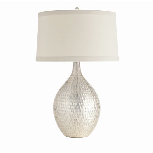 Walter Distress Mercury Glass Lamp