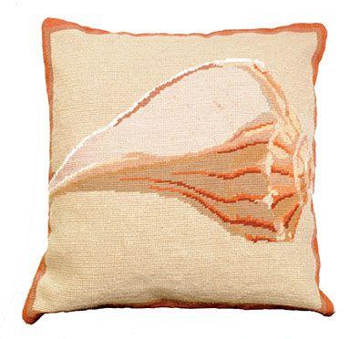 Whelk Shell Pillow