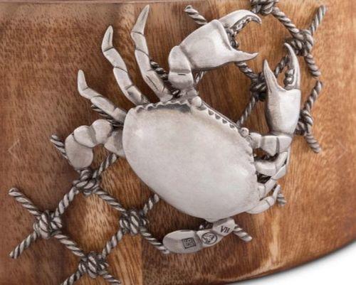 Crab in Net Salad Bowl