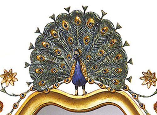 Garden Peacock Mirror