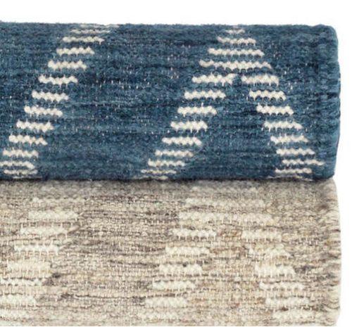 Healy Grey Woven Wool Rug