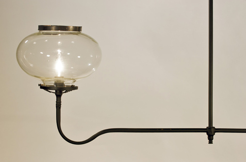 Oglethorpe 4-Light Gaslight Replica Chandelier