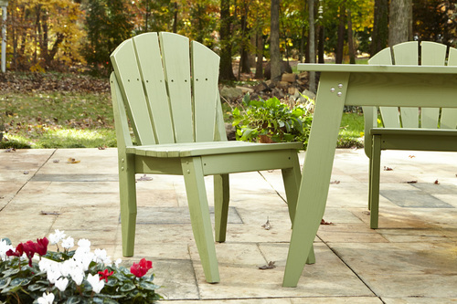 Plaza Outdoor Dining Chair Without Arms