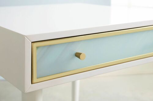 Seaglass End Table <font color=a8bb35>NEW</font>