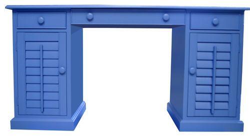 Shuttered Pedestal Desk