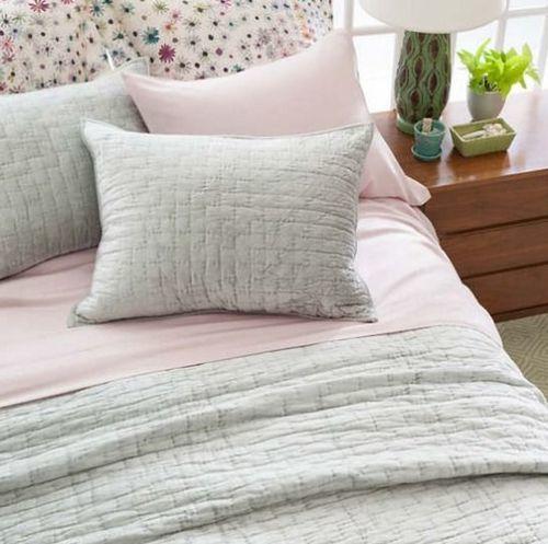 Silken Solid Slipper Pink Sheet Set