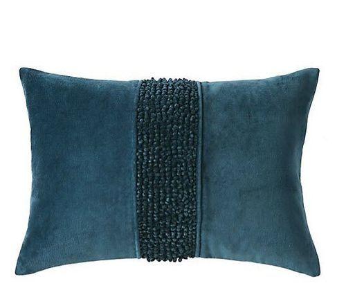 Topaz Pillow - Navy <font color=a8bb35> NEW</font>