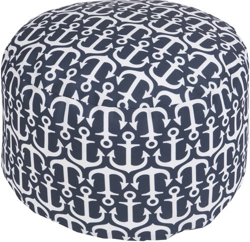Anchor Pouf Indoor/Outdoor in Six Colors