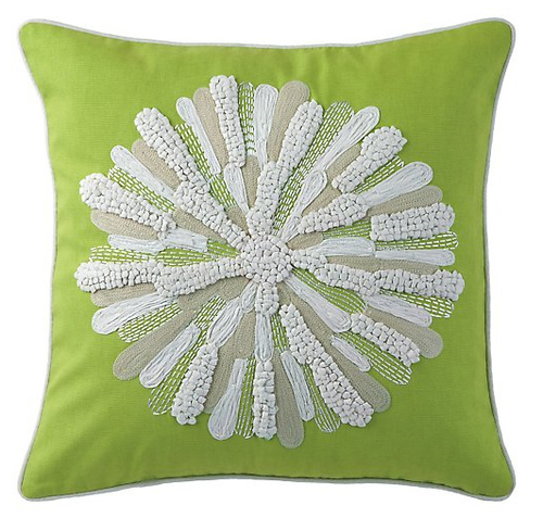 Asters Pillow in Many Colors