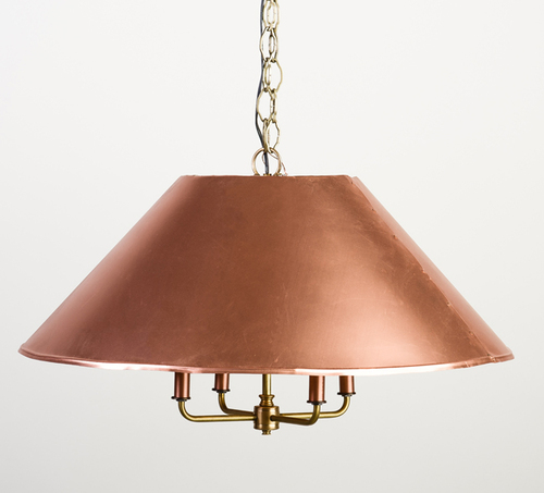 Carolina Two Piece Copper Shade Light<font color=a8bb35> Discontinued</font>