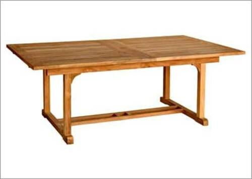 Chelsea Large Rectangle Extension Dining Table