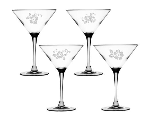Hyacinth Martini Glass Set of 4