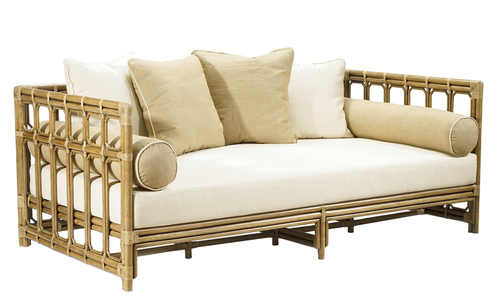 Regeant Rattan Daybed in Clove or Nutmeg