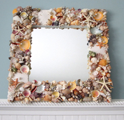 Sea Bouquet Mirror