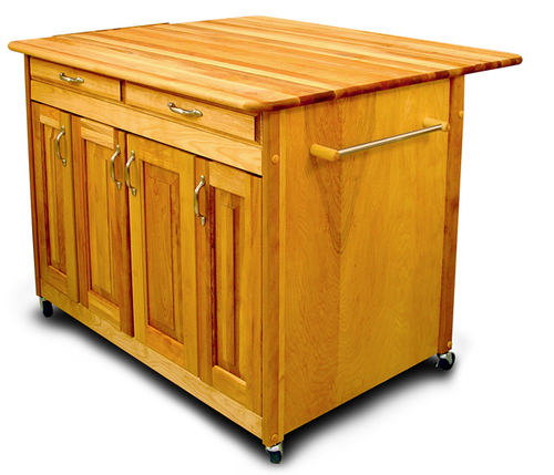 The Edgartown PLUS Kitchen Island with Drop Leaf
