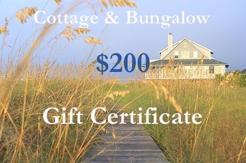 Two Hundred Dollar Gift Certificate