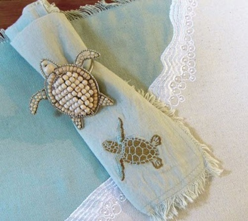 Sea Turtle Table Linen Collection