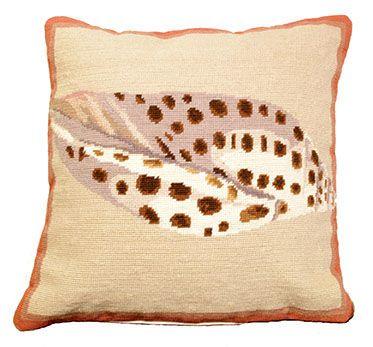 Volute Shell Pillow