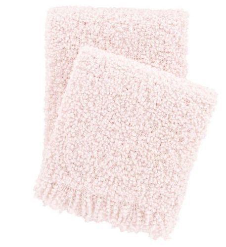 Adelle Throw  Slipper Pink