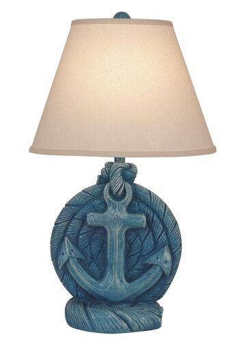 Weathered Deep Sea Anchor Table Lamp