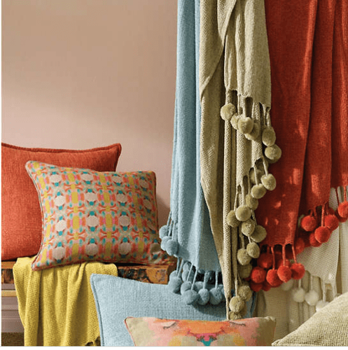 Bauble Chenille Spice Throw