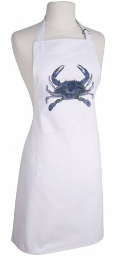 Blue Crab Apron