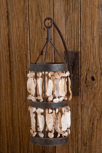 Calibougie Shell Cylinder Sconce Pendant Light