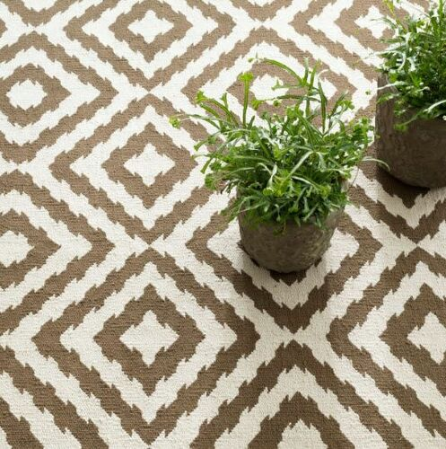 Clover Camel Cotton Woven Rug<font color=a8bb35> Taking Pre Orders</font>