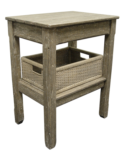 Cottage Plank Side Table
