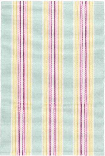 Eden Stripe Woven Cotton Rug