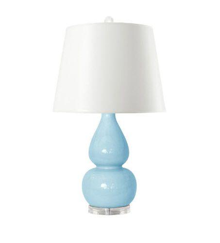 Emilia Table Lamp Light Blue