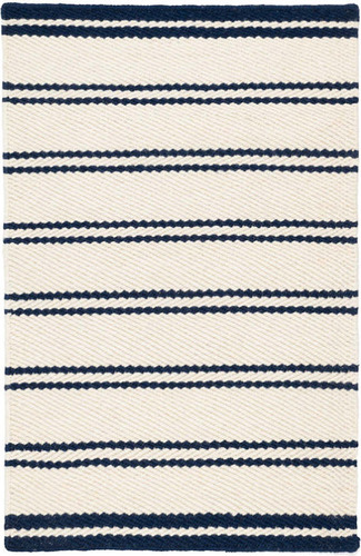 Fairbank Stripe Woven Wool Rug