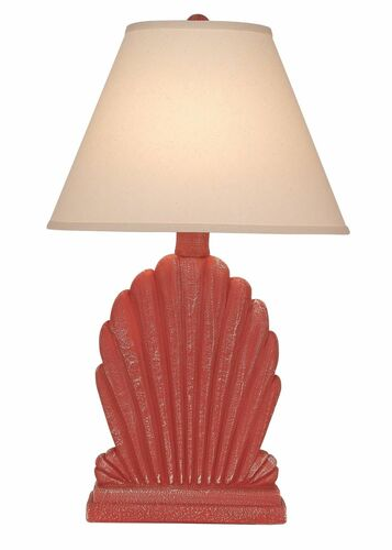 Fan Shell Table Lamp