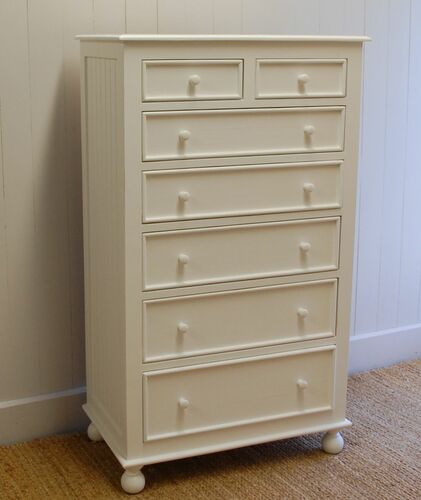 Farmhouse Tallboy Dresser