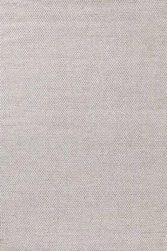 Honeycomb Ivory/Grey Wool Woven Rug
