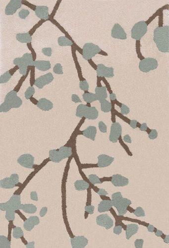 Hudson Park Moss Branches Plush Pile Rug