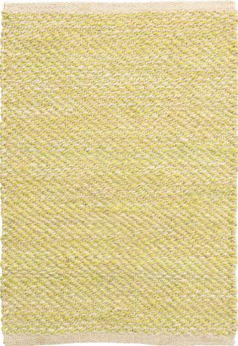 Jacinto Chartreuse Yellow Jute Rug